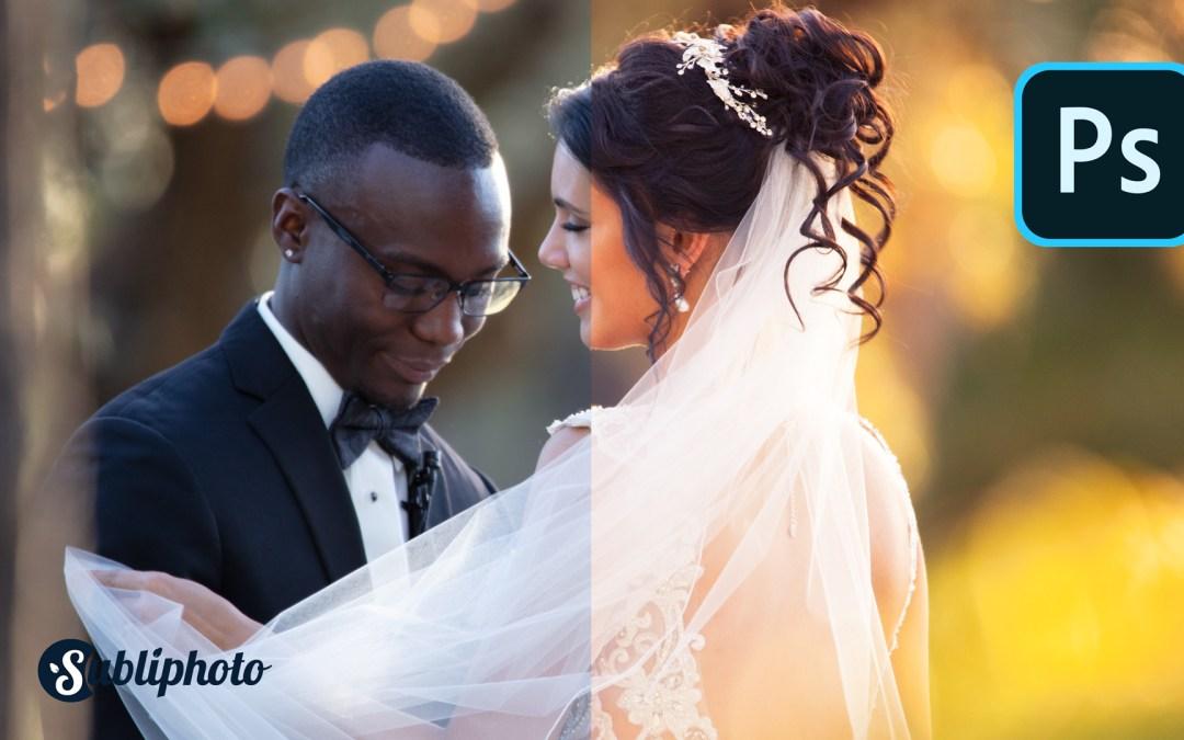 Comment sublimer/retoucher ses photos de mariage ?