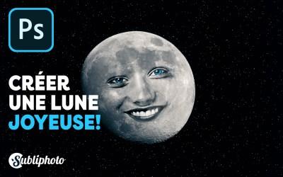 Comment faire une lune joyeuse sur Photoshop