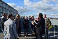 Monsieur Mathieu Marsan présente un historique des bassins à flot de Bordeaux.