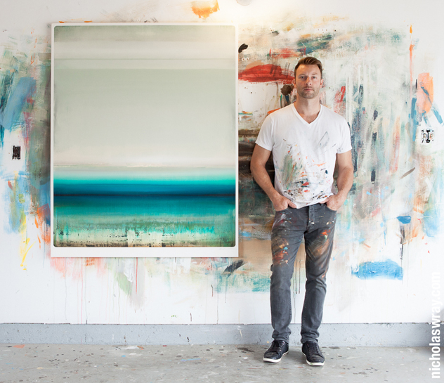 Abstract artist Micah Crandall-Bear shows a subtler side in his new exhibition