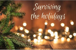 Christmas is coming – Surviving the holidays