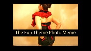 Burlesque Baby – Fun Theme Photo Meme