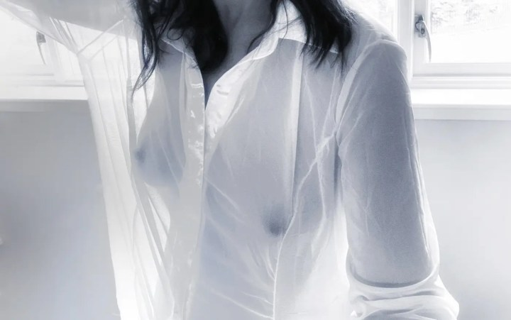Seeing through things - see through blouse