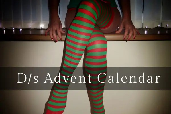 advent calendar of a submissive wife