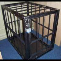 a cage awaits