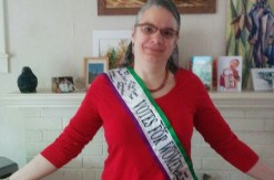 """Votes for Women"" sash"