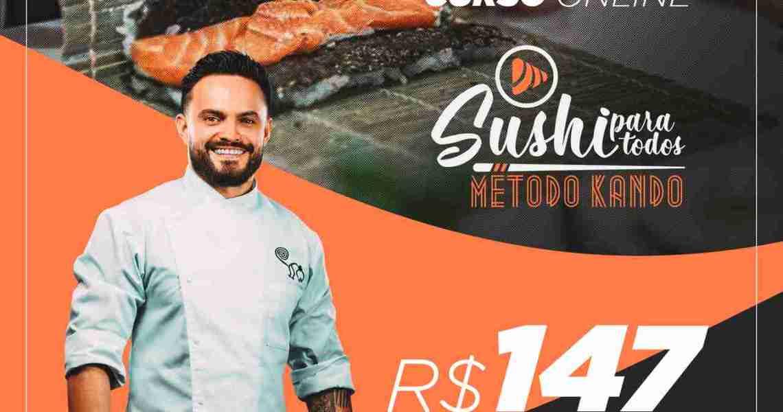 Curso Sushi Para Todos 2.0 Chef Edu Rejala