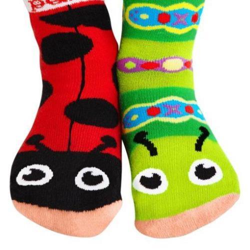 Pals Ladybug & Caterpillar socks