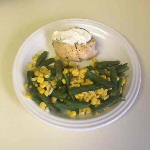 chicken with corn