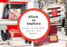 allure vs sephora: which is the best box of this month?