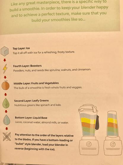 greenblender recipe