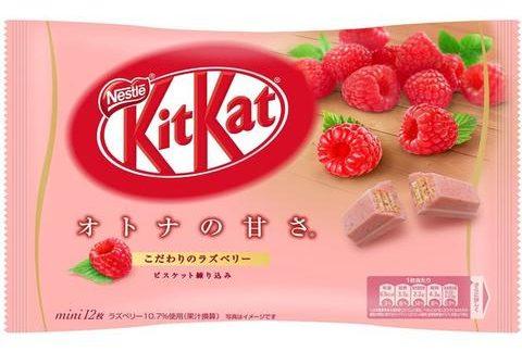 japanese sweet raspberry kit cat