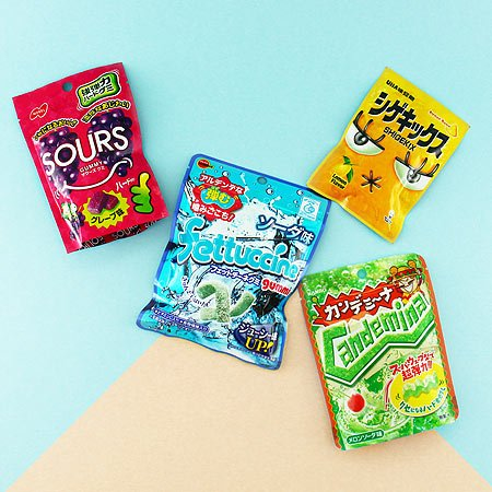 Sour Japanese Candy