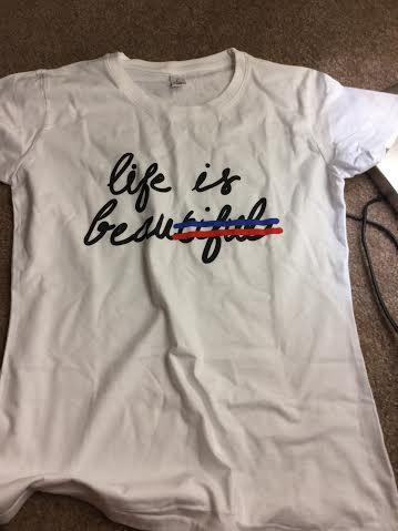 Kingies - Life is Beautiful T - Shirt