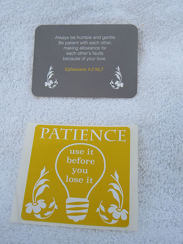 Scripture Card and