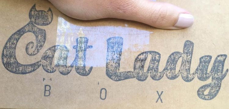 Cat Lady Box Aug 2015