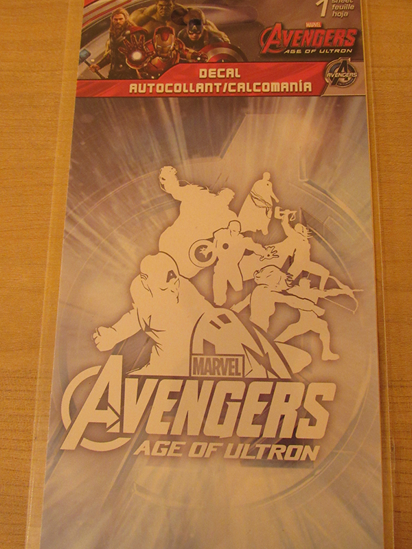 Avengers: Age of Ultron decal
