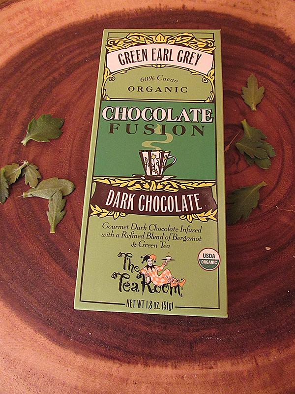 The Tea Room Green Earl Grey Chocolate Fusion Bar
