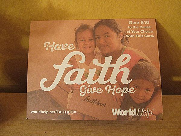 World Help Gift Card X 2