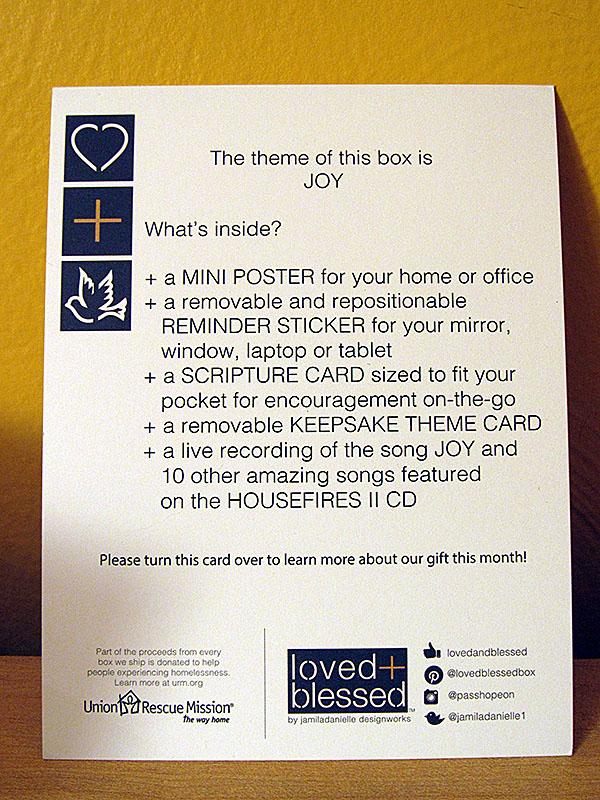Information Card