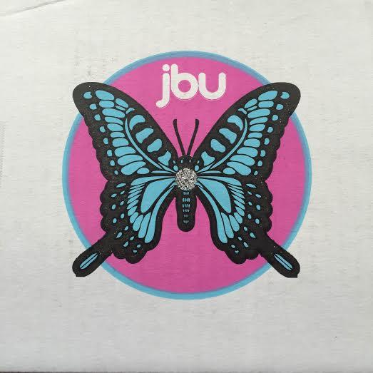 Foldaway Tote - hearts butterflies pink b by VIDA VIDA ygsLA10e