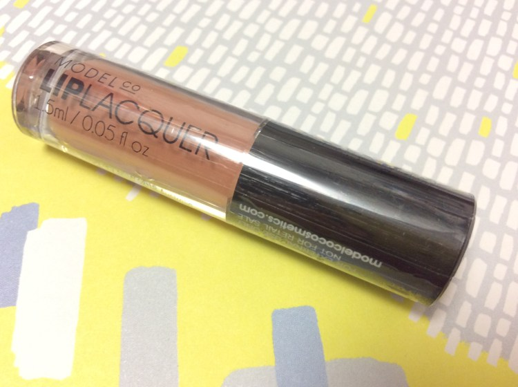 ModelCo Lip Laquer in Creme Brulee