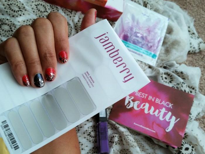 Jamberry Nail Wraps metallic chrome