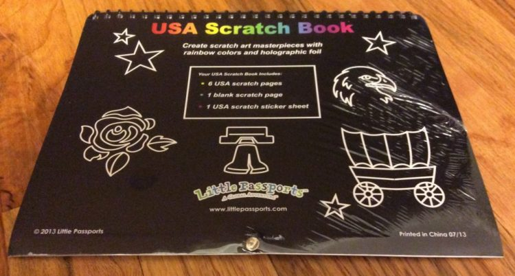 Little Passports USA Edition Scratch Pad