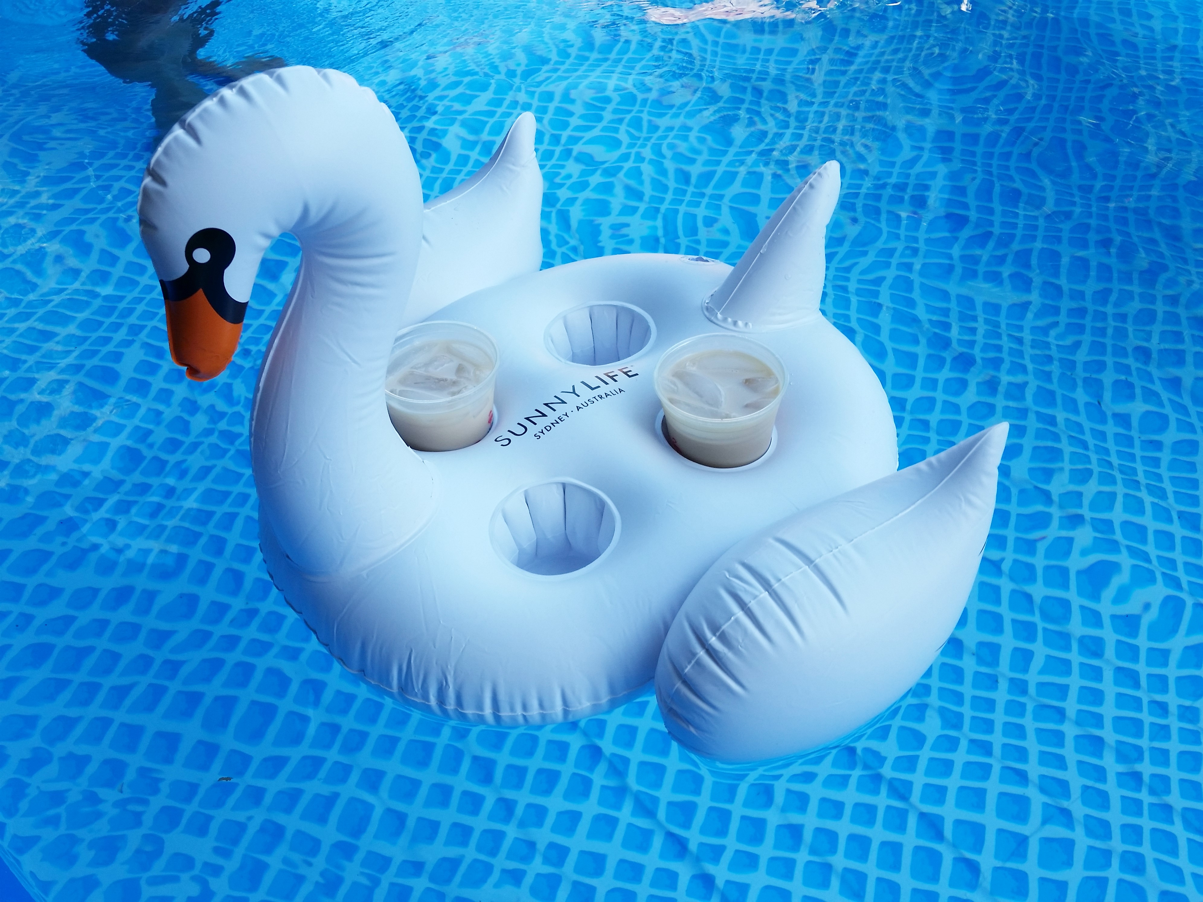 In Real Life: Inflatable Swan and Oreo Popcorn – Subscriptionista