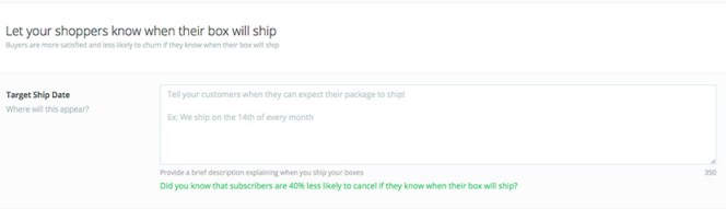 Ship Date Tool Marketplace