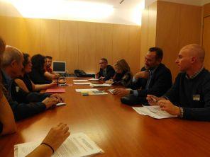 Reunión con Mar Rominguera PSOE