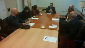 Reunión con Lucía Martín y Pilar Garrido UP-EC-EM