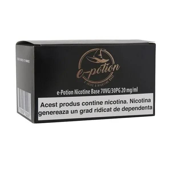 e-potion substitute magazin tigari electronice sibiu vapat țigară electronica lichide cu nicotina 10 X Shot Nicotina 18mg e-Potion Nicotine Base 20mg 70VG 30PG 10ml