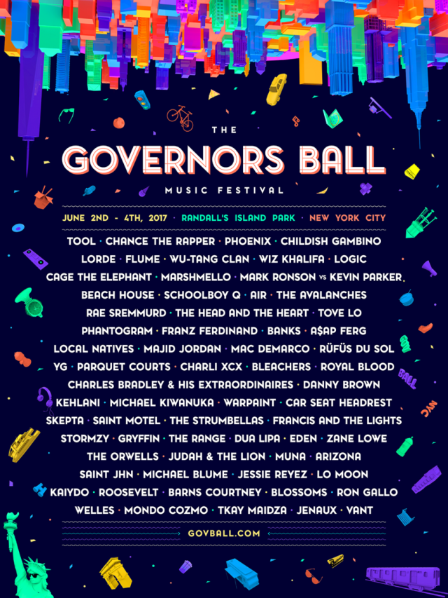 governors ball lineup 2017