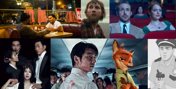 Top 25 films of 2016