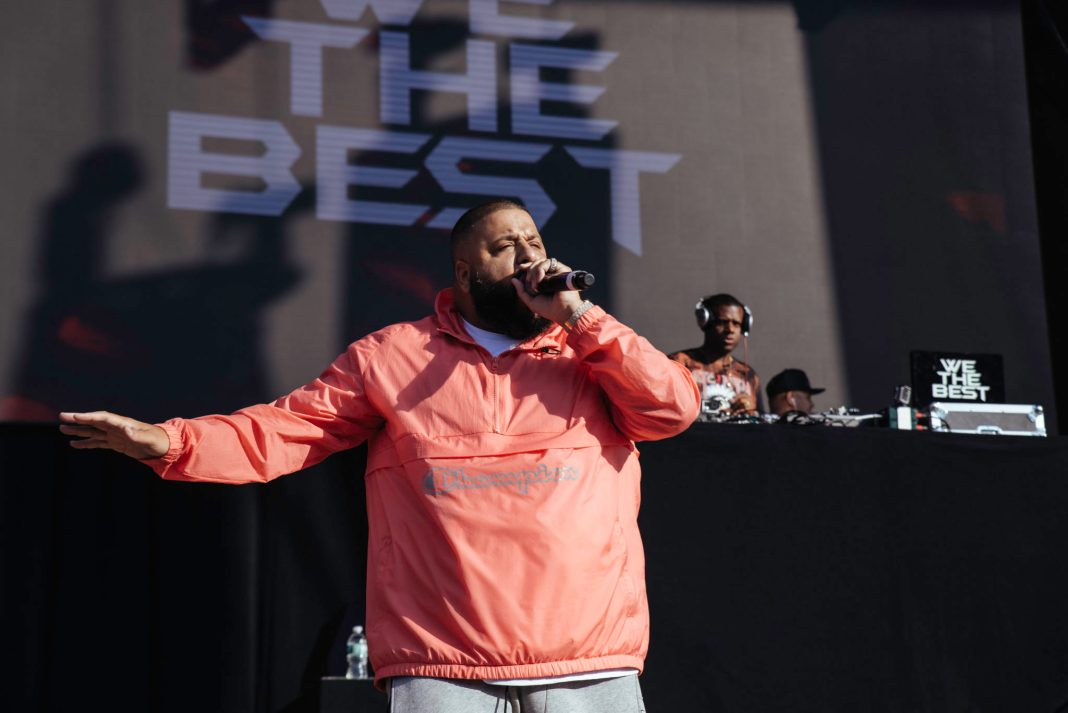 DJ Khaled at Billboard Hot 100 Festival- by Molly Hudelson