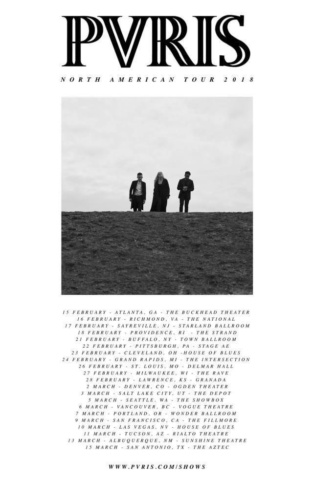 pvris tour dates