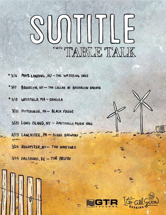 Suntitle tour