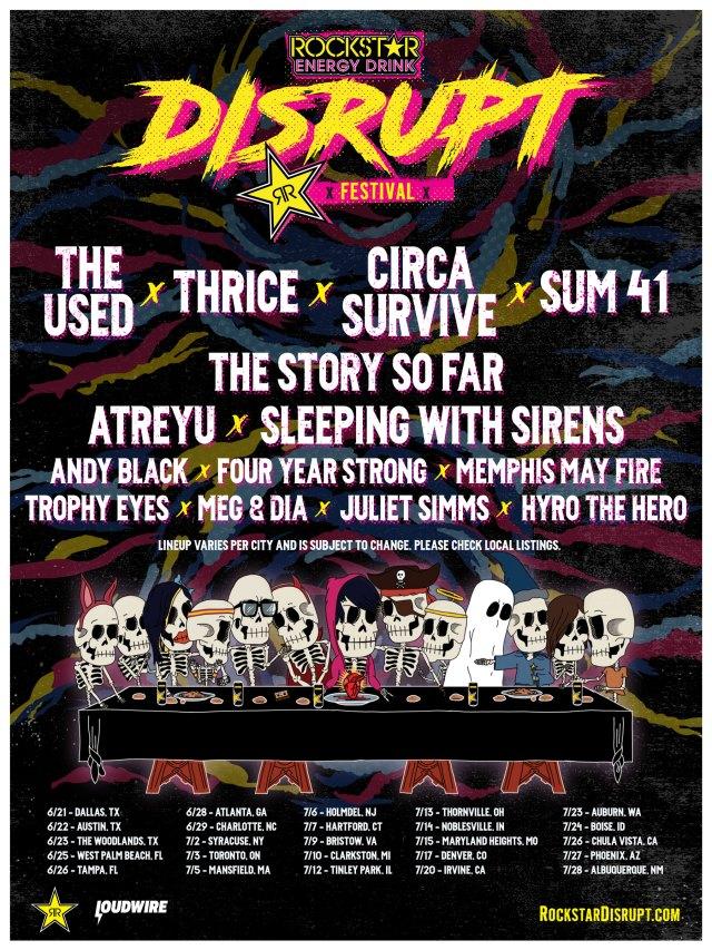 Disrupt Festival lineup