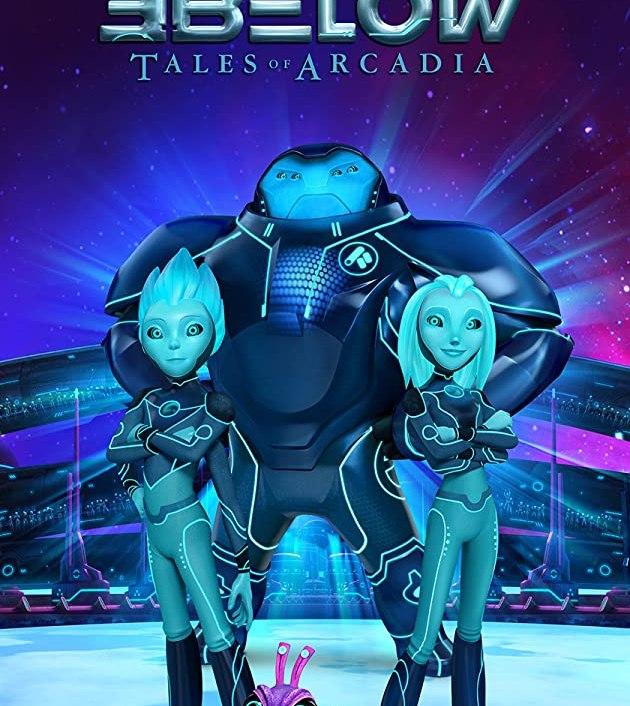 3Below: Tales of Arcadia TV Series (2018): ทรีบีโลว์: ตำนานแห่งอาร์เคเดีย