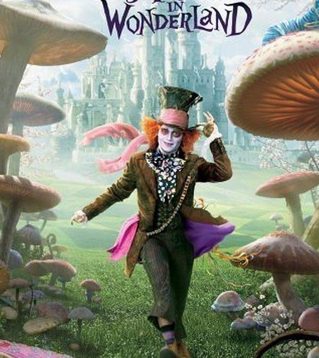 Alice in Wonderland (2010) : อลิซในแดนมหัศจรรย์