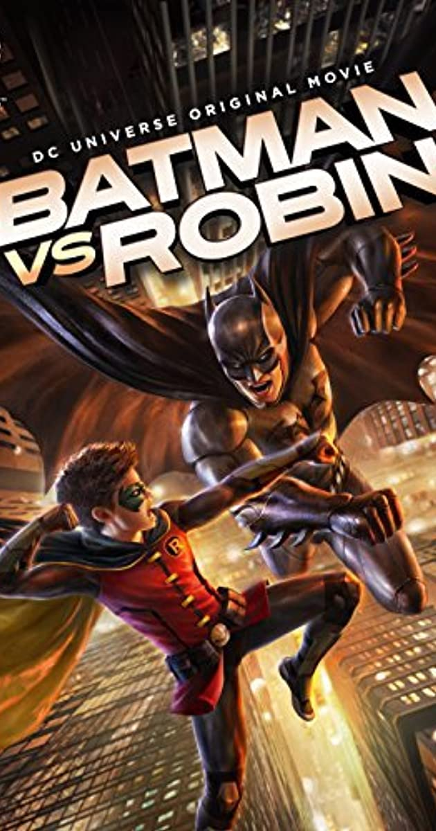 Batman vs. Robin (2015): แบทแมน ปะทะ โรบิน