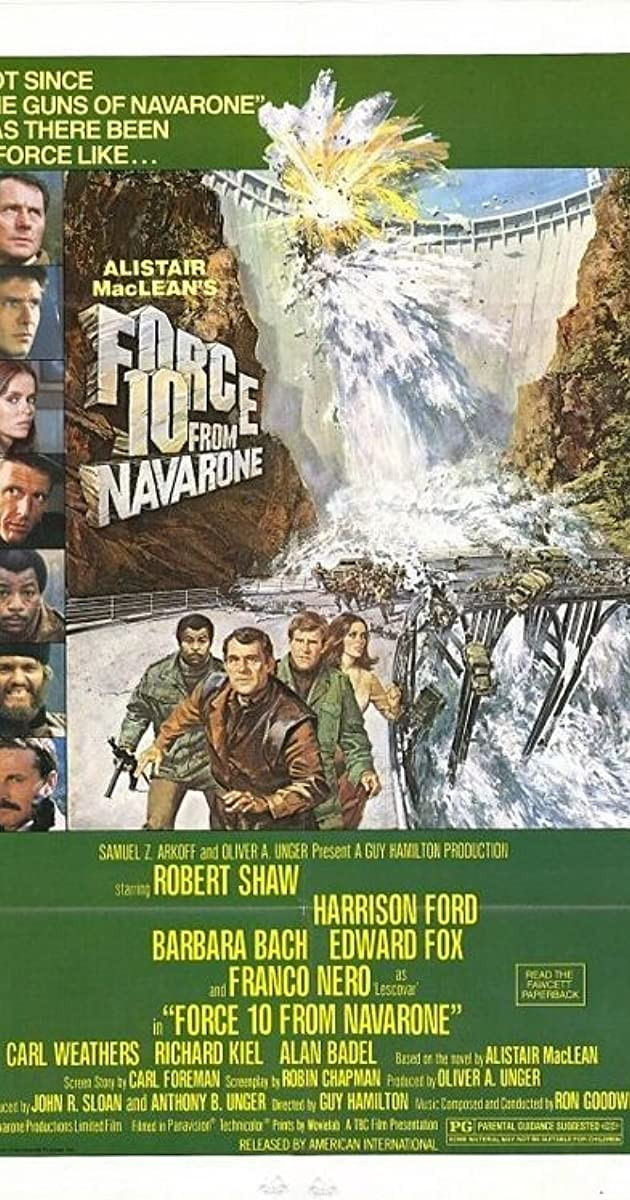 Force 10 From Navarone 1978