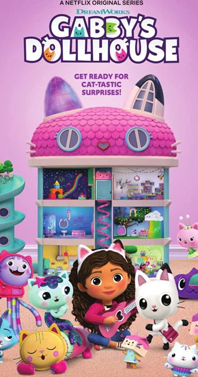 Gabby's Dollhouse TV Series (2021): บ้านตุ๊กตาของแก็บบี้
