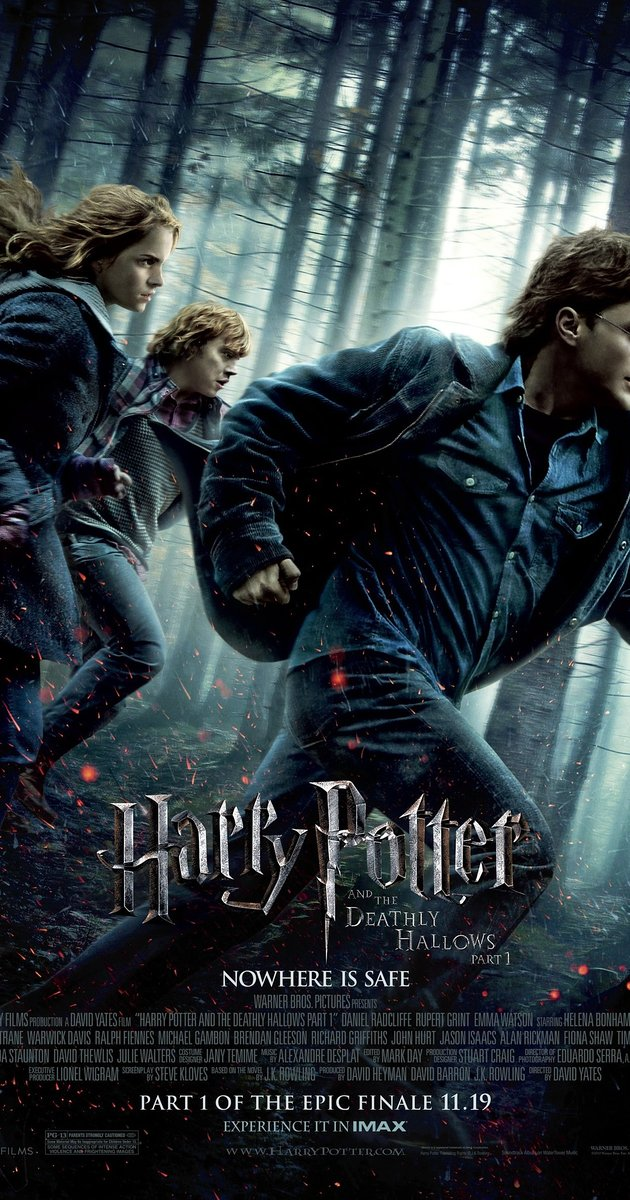 Harry Potter and the Deathly Hallows: Part 1 (2010) แฮร์รี่ พอตเตอร์กับเครื่องรางยมฑูต