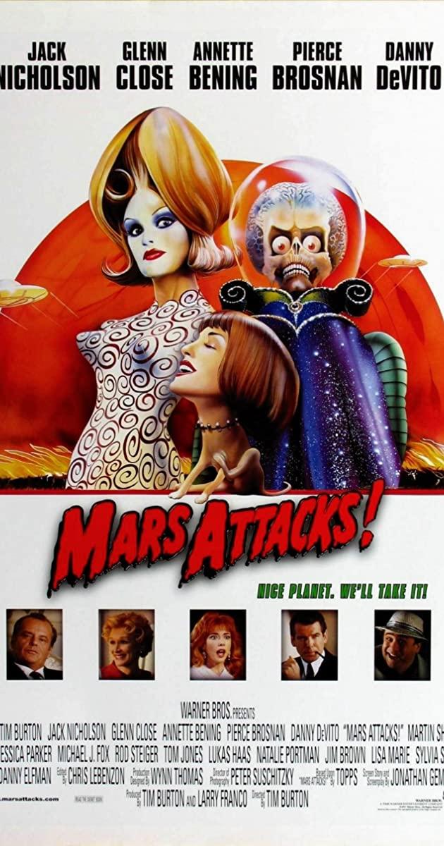 Mars Attacks! (1996): สงครามวันเกาโลก
