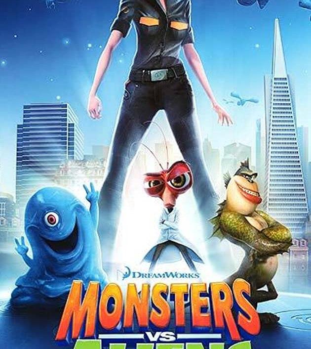 Monsters vs. Aliens (2009) :มอนสเตอร์ ปะทะ เอเลี่ยน