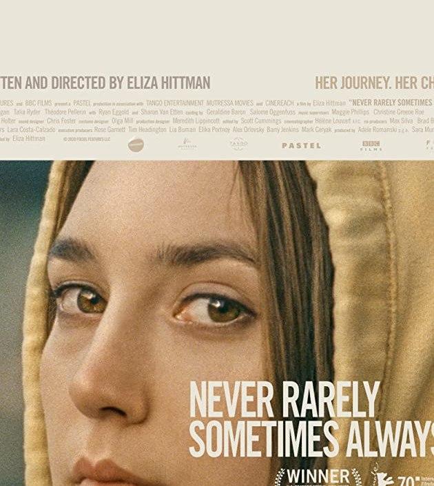 Never Rarely Sometimes Always (2020): ไม่เคย นานหน บางครั้ง เป็นประจำ