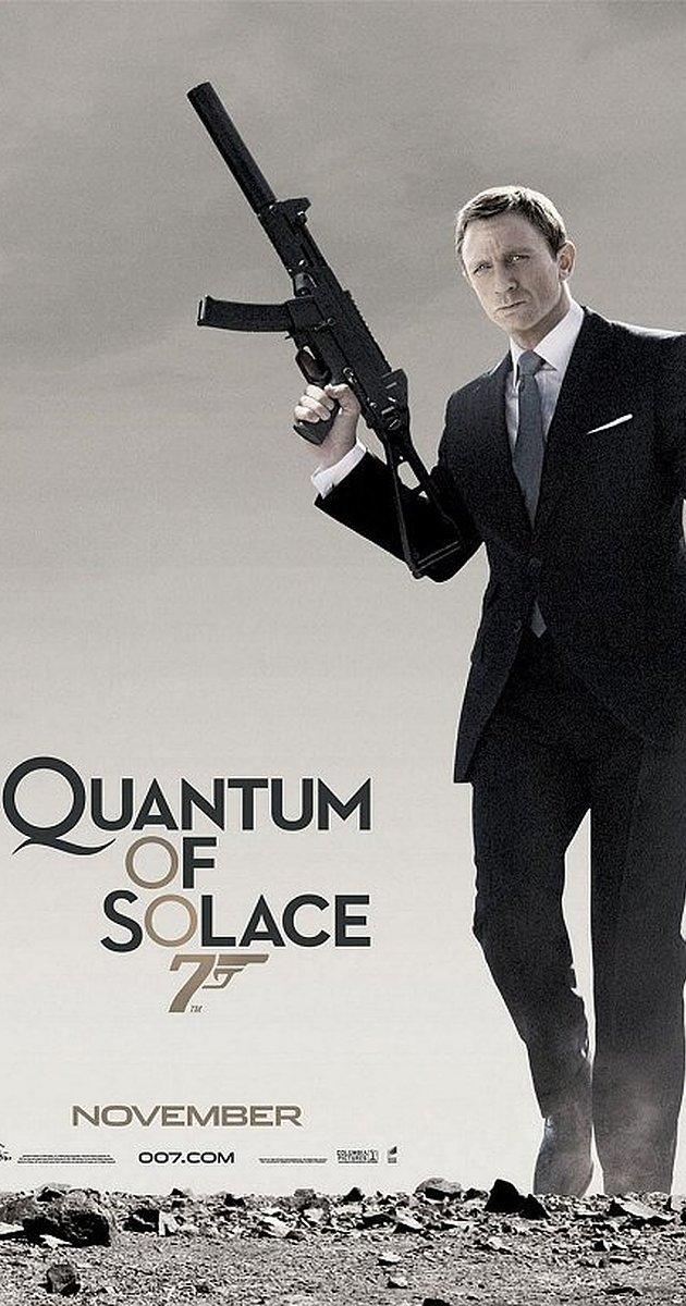 James Bond 007 Quantum of Solace (2008) : เจมส์ บอนด์ 007 พยัคฆ์ร้ายทวงแค้นระห่ำโลก