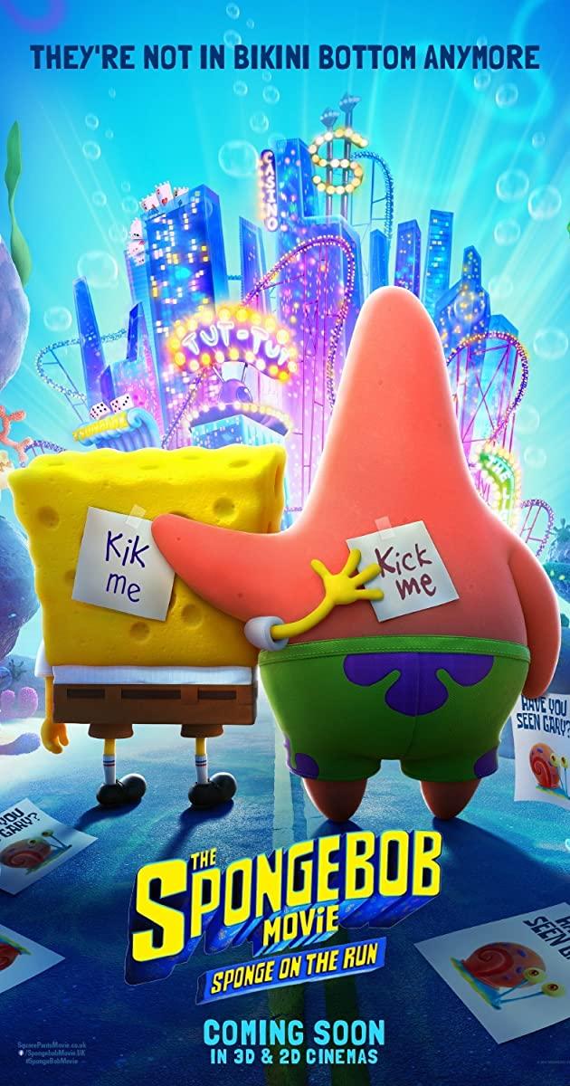 The SpongeBob Movie: Sponge on the Run (2020): สพันจ์บ็อบ ผจญภัยช่วยเพื่อนแท้